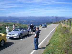 participants of a previous classic europe rally